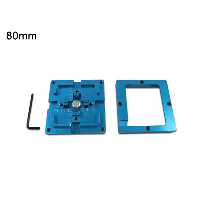 Good quality single/dual frame 80X80mm BGA Reballing Station New Blue BGA Reballing Jig bga repair tool bga reballing station jig 184pcs 80x80mm templates kit for laptop desktop xbox