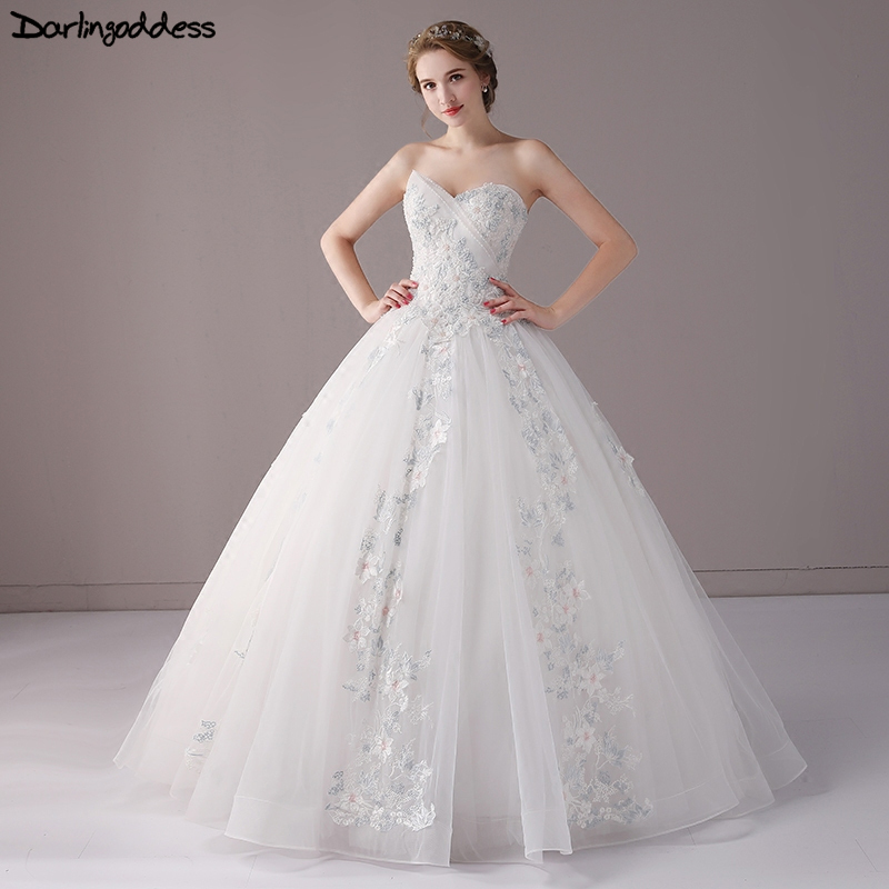 Online Get Cheap Elegant Princess Wedding Gowns Aliexpress Com