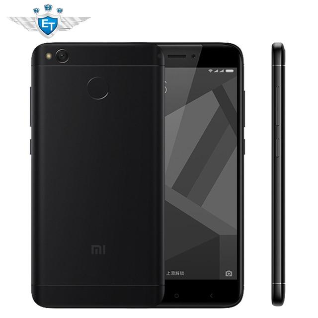 """Оригинальный Xiaomi Redmi 4X смартфон 2 ГБ 16 ГБ Snapdragon 435 Octa Core 5.0 """"720 P 4100 мАч 13MP MIUI 8.2 глобальных оты отпечатков пальцев ID"""