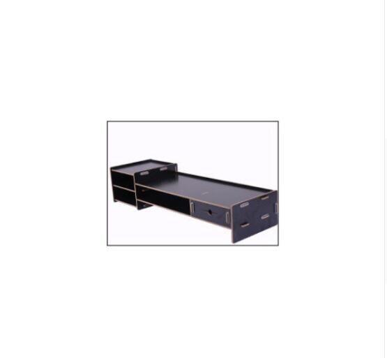 Подставка для монитора, настольный органайзер, органайзер для ухода за шеей, органайзер для работы, клавиатура, полка с выдвижным ящиком - Цвет: 3