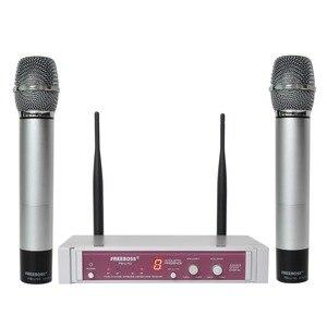 Image 5 - FB U10 Dual Way Digital UHF Microfono Senza Fili con 2 Metallo Palmari
