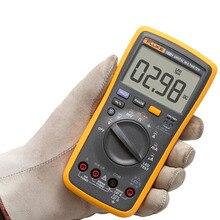 СЛУЧАЙНОСТЬЮ F18B + Цифровой Мультиметр Метр тест СВЕТОДИОДОВ С сумка DMM с TL75 ТЕСТОВЫЕ провода LED напряжения Тестер