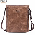 VICUNA POLO Famous Brand Retro Symmetrical Business Man Bags Vintage Italy Leather Men Messenger Bag Quality Men's Leather Bag