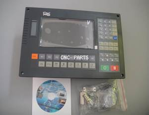 "control system for cnc plasma cutting machine SH-2012AH1 7"" color LCD"