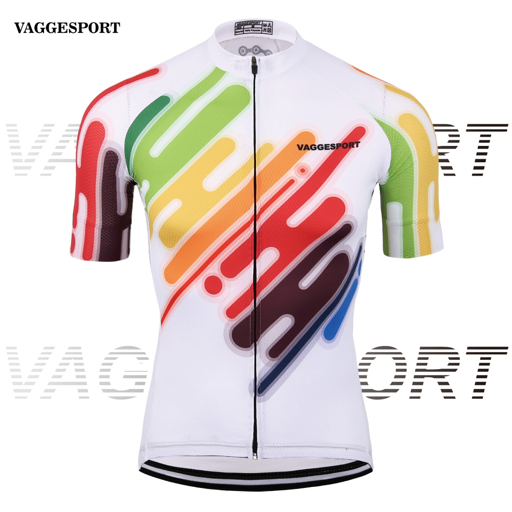 2017 colorful unique cycling clothing/anti-uv outdoor sublimated racing cyclist top/best cool breathable full zipper bike shirts