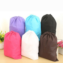 Laundry Shoe Travel Pouch Portable Tote Drawstring Storage Bag Baby Clothing Kids Toys Organizer Drawstring Cosmetic Candy Bags(China)