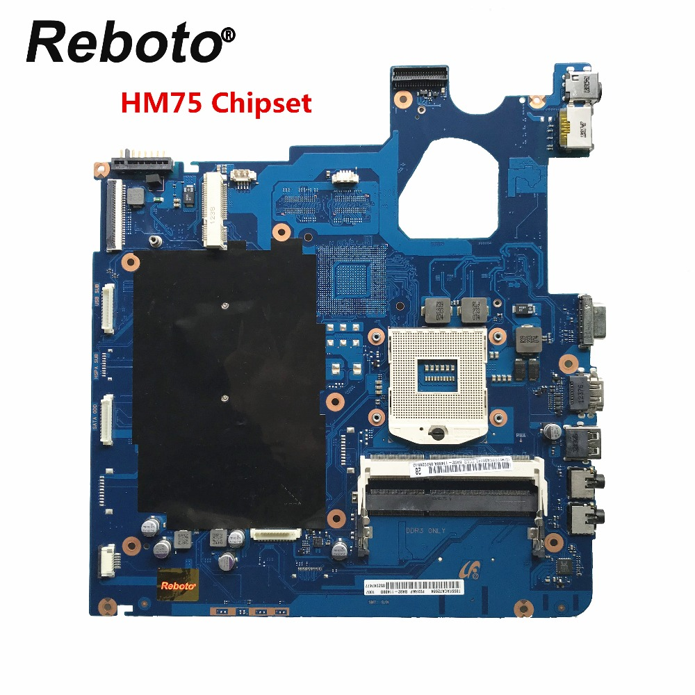 Reboto For Samsung NP300E5C Laptop motherboard BA92 11488A PGA 989 HM75 DDR3 MB 100 Tested Fast