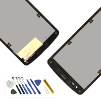 For LG Optimus D390 D290 D290N F60 L Fino D295 LCD Display Touch Screen Digitizer With Frame and Tools Adhesive replacement
