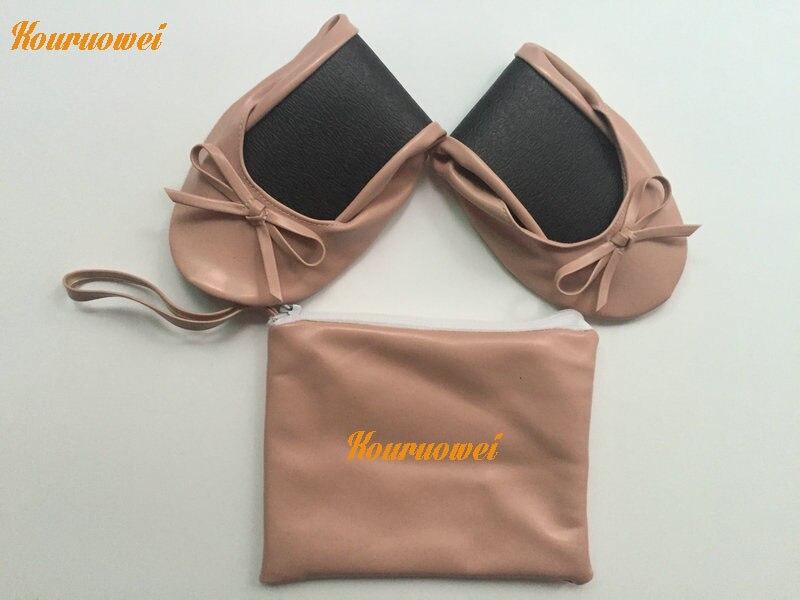 Unique Chaussures Pliable Individu Enroulable Impression Conception Chaude Ballerine Logo xqXwT0nREZ