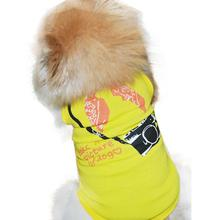 Sleeveless Camera dogs pets clothes