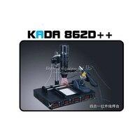 220V 110V 4 In 1 Full Auto IRDA Infrared Soldering Station KADA 862d BGA Rework Station