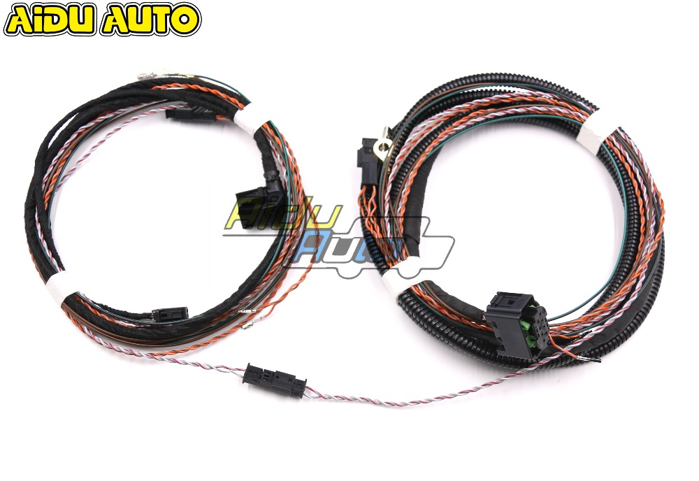 Lane assist Lane change keeping system ACC Adaptive Cruise Wire cable Harness USE For VW Golf 7 MK7 VII