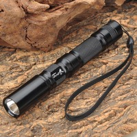 C3 Flashlight With 2 X AA Extension Tube Bundle 1 Mode Cree P4 XR E LED