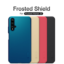 Honor 20 case Honor 20 Cover NILLKIN Matte Super Frosted Shield Hard Back Cover For Huawei Honor 20 Phone with Gift Phone Holder цена и фото