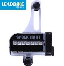 Leadbike MTB Mountain Bike Caps Luz y 14 Leds de Colores de Arco Iris Ciclismo Válvula Del Neumático Flash Lámparas 30 estilos