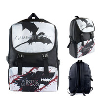 Game Of Thrones Super Mario Kirby Anime Cartoon Students School Bag 1211 Kids Backpack Travel Bag