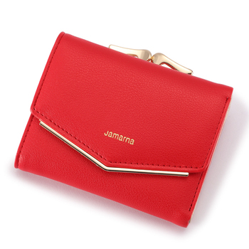 Women's Elegant Leather Wallet Bags and Wallets Women's Wallets Color: Red