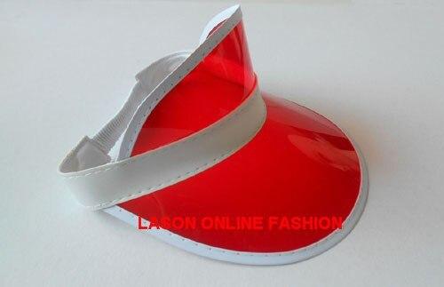 DHL/EMS 48 шт./лот неоновый Защита от солнца козырек пик Кепки ясно Пластик летняя шляпа Rave фестиваль нарядное платье Liquor& Poker повязка на голову