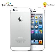 iPhone 5 IOS заводской разблокированный сотовый телефон, ips 8.0MP gps 3g IOS система используется GSM мобильный