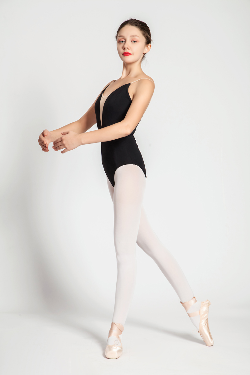 Image 5 - Ballet Leotards Adult New Style Black Sexy Comfortable Practice Dancing Clothes Women Gymnastics Leotard Cheap Ballet Dance Wear-in Ballet from Novelty & Special Use