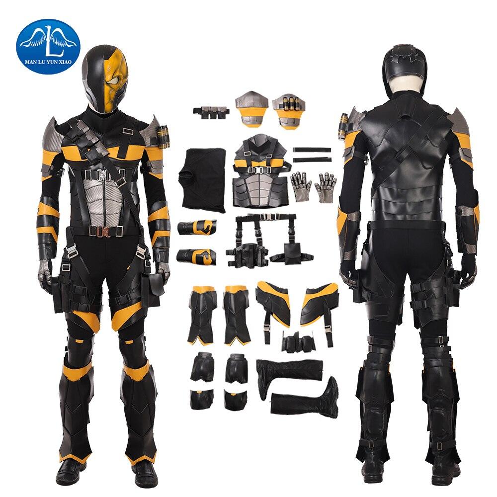 new deathstroke cosplay costume men full set slade joseph wilson
