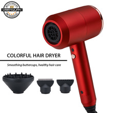 купить Hot Electric Hair Blower Professional Blow Dryer New Design High Quality Hair Drying Machine No Hair Injury Nanoe Hair Dryer по цене 1531.89 рублей