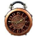 Новый круглой формы мешок новинка истинной тревоги уникальные нобелевской машина времени винтаж работоспособным amliya часы сумки