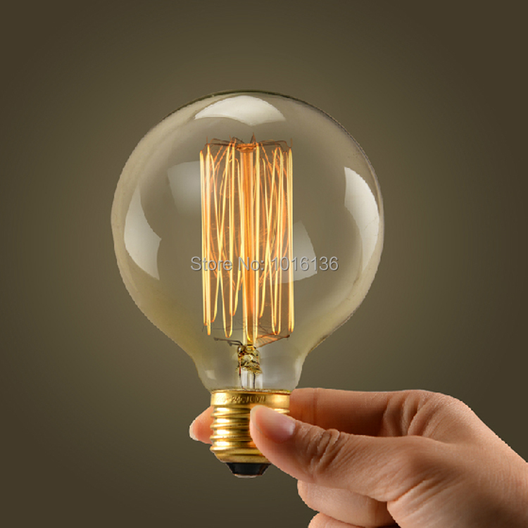 Beautiful G80/G95/G125 40W E27 Edison Light Bulbs Vintage Tungsten Lamp Bulb  Personalized Incandescent Antique Lighting Bulb In Incandescent Bulbs From  Lights ... Photo Gallery