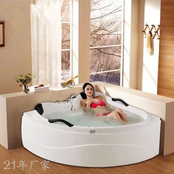 Dla dwóch osób rogu z hydromasażem jacuzzi wanna do masażu M-2005 tanie i dobre opinie Wolnostojące Akrylowe W zestawie Combo masaż (air whirlpool) 1 5 m WHITE CE ISO9001 CQC RoHS ETL Reach ISO9001 SAA