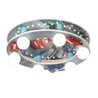 Мультфильм мобилизации автомобиль потолочный светильник для детей спальня исследование творческая гостиная огни детей потолочные светил