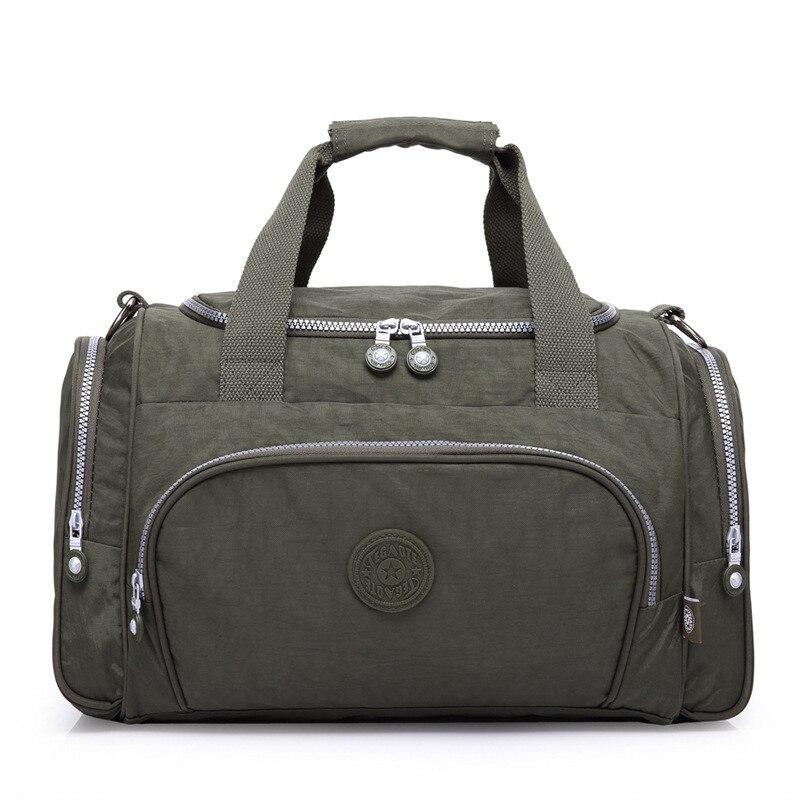 Brand Men Travel Bags Large Capacity Female Women Luggage Travel Duffle Bags Male Nylon Travel Handbag Folding Trip Bag