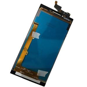 Image 3 - 100% اختبار شاشات LCD لينوفو P70 P70 A P70t P70a شاشة الكريستال السائل مجموعة المحولات الرقمية لشاشة تعمل بلمس P70 الهاتف استبدال شحن مجاني