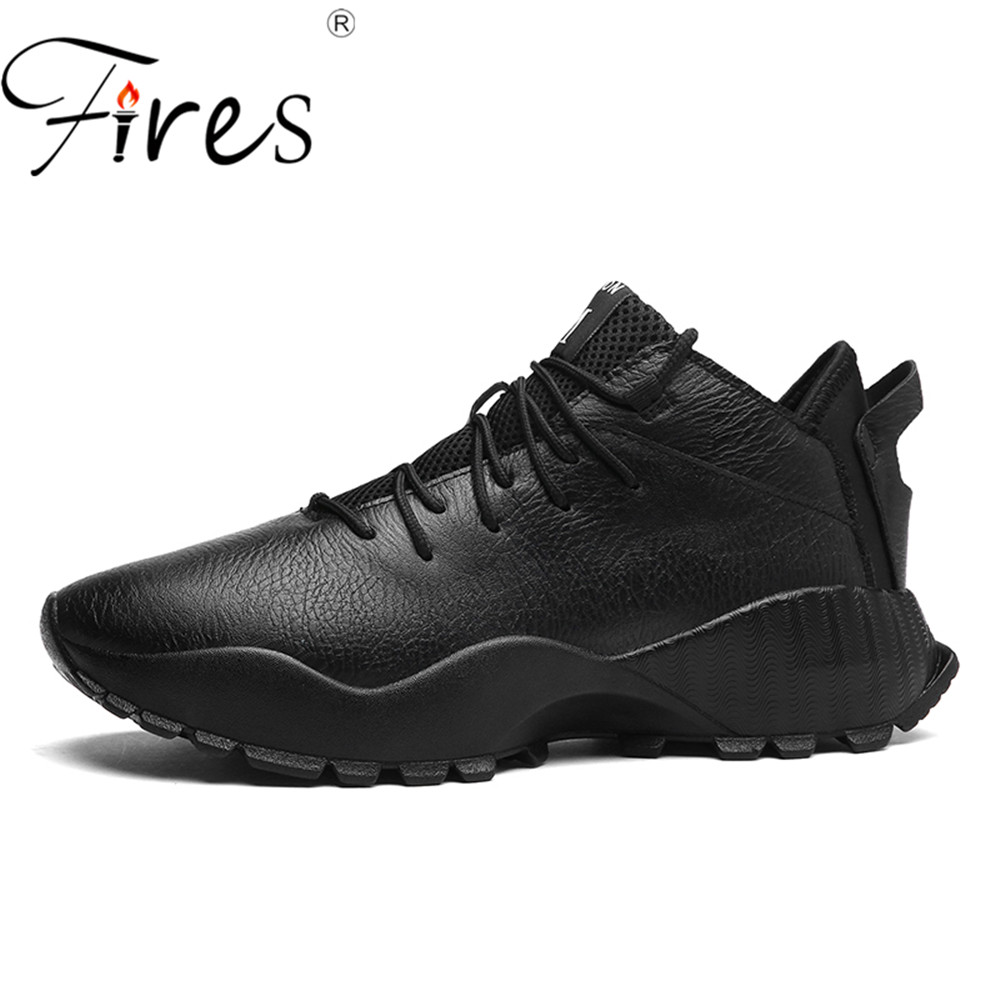 Fires Men Running Shoes Waterproof Brand Sport Shoes For Men Comfortable Sneakers Training Shoes Abrasion Resistant Walking Shoe