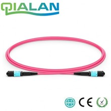 лучшая цена 5m MTP MPO Fiber Patch Cable OM4 UPC jumper Female to Female 12 Cores Patch Cord multimode Trunk Cable