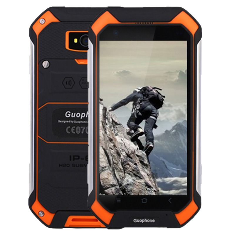 Цена за Оригинал guophone v19 android смартфон mtk6580 quad core 4.5 дюймов экран 1 ГБ ram 8 ГБ rom ip68 ударопрочный пыле мобильный телефон