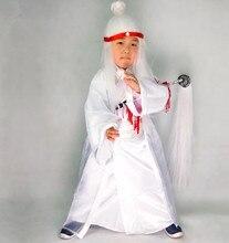 Белый богов костюмы детей воин костюмы китайский воин костюм смешной косплей одежда для детей джокер косплей костюм