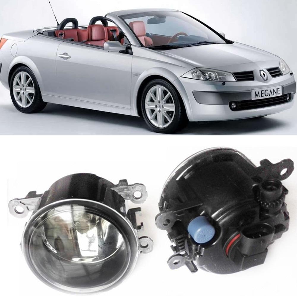 For Renault MEGANE 2 Coupe-Cabriolet EM0 EM1 Convertible  2003-2015 Car styling Fog Lamps halogen Fog lights 1SET renault megane coupe 1999