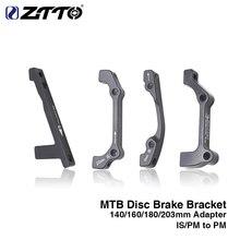 Freno de disco ZTTO MTB 1 Unidad soporte ultraligero es PM A B A PM un adaptador de montaje de freno de disco para 140 160 180 203mm