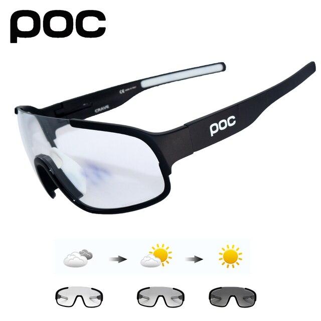 1ff5ff6b6b POC Crave 5 lentes fotocrómicos de bicicleta de montaña gafas de Ciclismo  polarizadas gafas ...