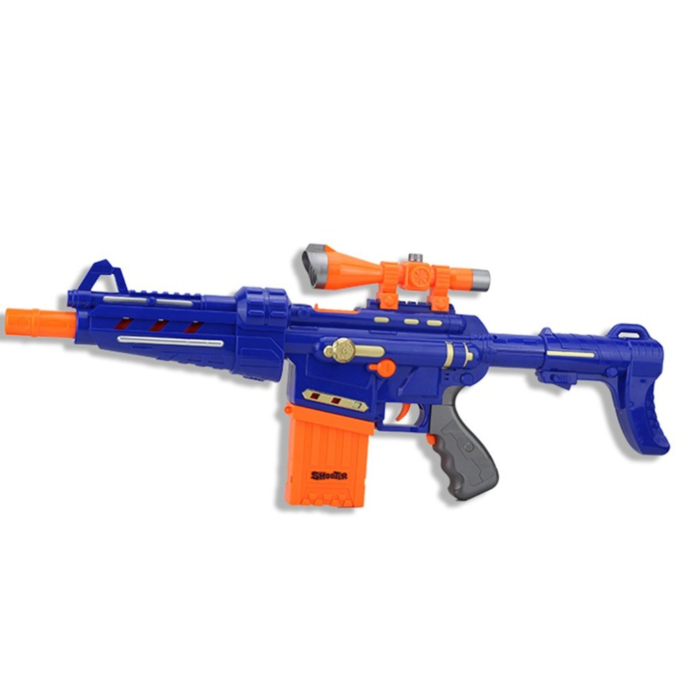 Children Plastic Electric Soft Bullet Gun Toys Serial Shoot Target Toy Suit  For Nerf Gun Rifle Boys Funny Toys Gifts arma orbeezUSD 28.99/piece