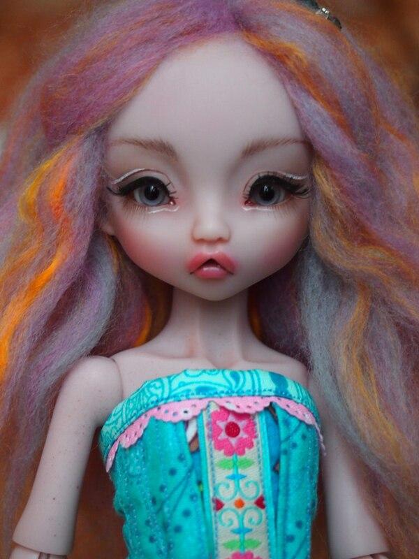 HeHeBJD resina 1/6 Radicelle figuras de resina lovely hot bjd ojos libres envío gratis-in Muñecas from Juguetes y pasatiempos    1
