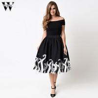 Womail CharmDemon Women S Octopus Squid Fancy Print Pattern Mini Knee Length Skater Skirt Se8