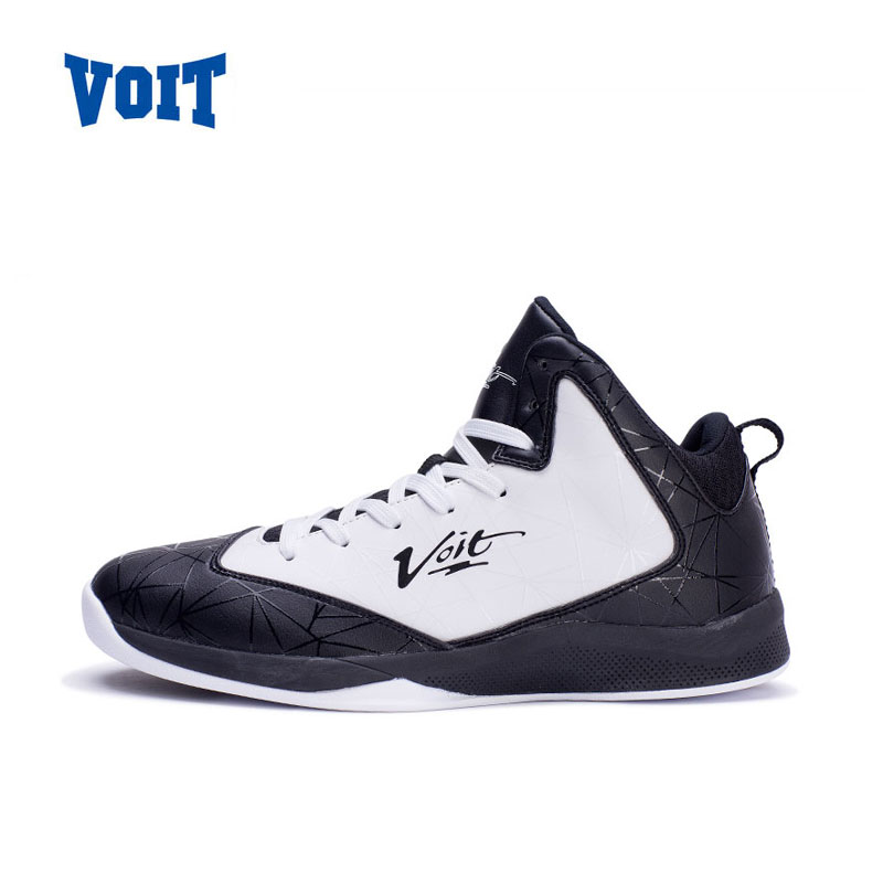 VOIT 2017 Men High-Top Athletic Basketball  Breathable Wavy Grip Wear Non-slip Traning Shoes Esay To Bend Outdoor Sport Sneakers  new men s basketball shoes breathable height increasing wear resisting sneakers athletic shoes high quality sports shoes bs0321
