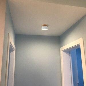 Image 4 - Aisilan HA CONDOTTO LA luce del punto del soffitto per la luce di soffitto lampade Apparecchi di Illuminazione a LED 5W da incasso faretto moderno in legno In Legno soggiorno luce