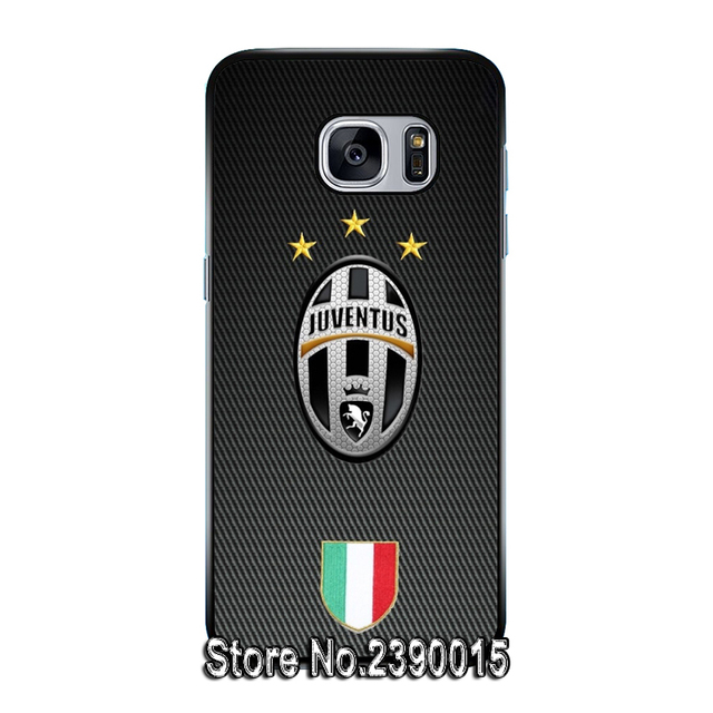 Juventus Rubber Cover Case for Samsung Galaxy S3 S4 S5 mini S6 S7 edge plus active Note 2 3 4 5 7 Silicon