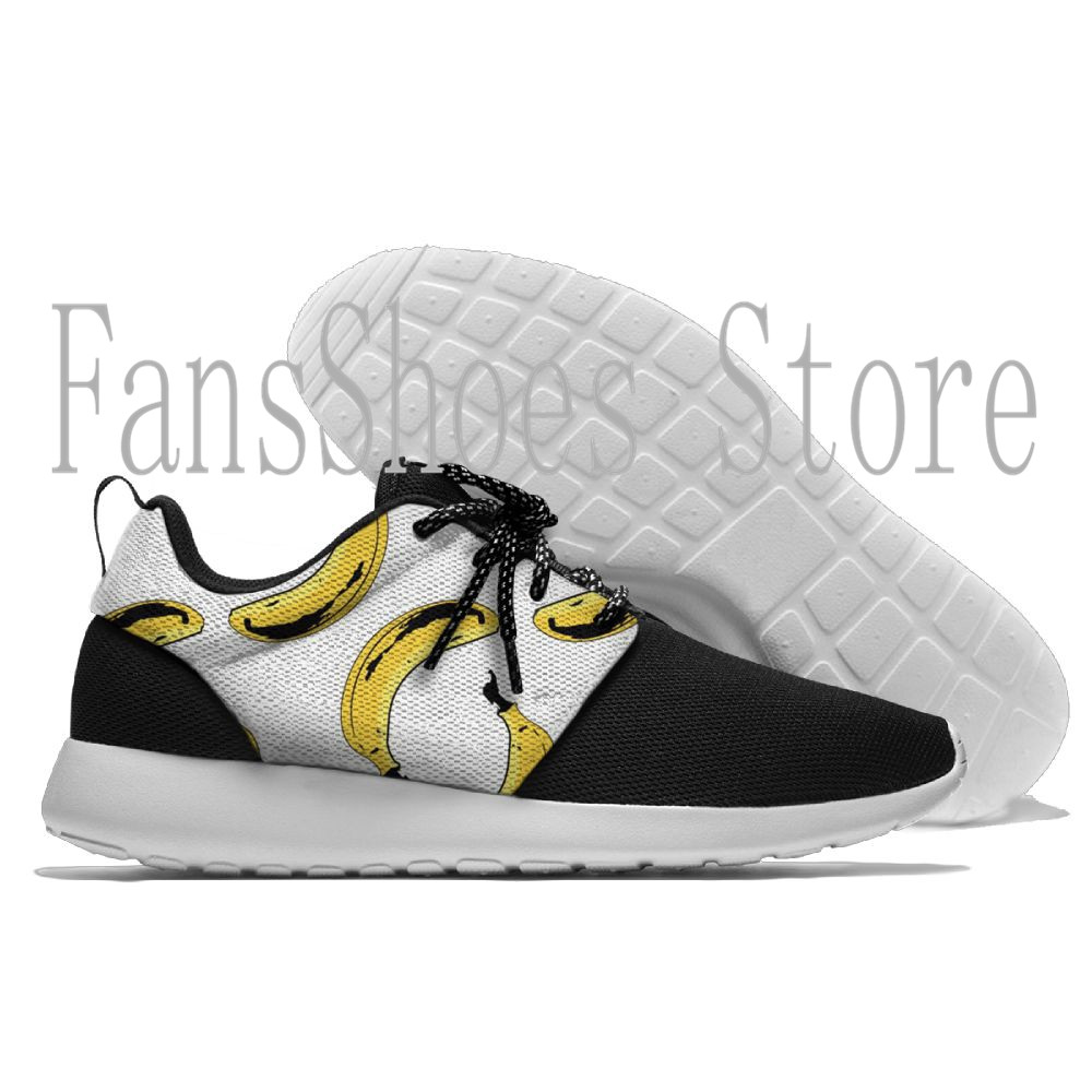New Arrival Original Authentic Breathable Running Shoes Sports Sneakers Classic Shoes printing Banana man and women