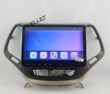 10.1 Quad-core 1024*600 HD de pantalla Android 6.0 GPS Del Coche de radio de navegación para Jeep Cherokee 2014-2016 con Wifi OBD DVR 1080 P