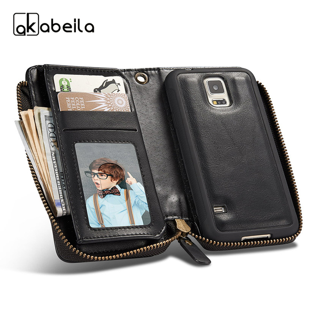 AKABEILA Phone Cover Case For Samsung Galaxy S5 G900 G900I G900M G900A G900T G900W8 G900K G900L G900S SV Bag Leather Cases Cover
