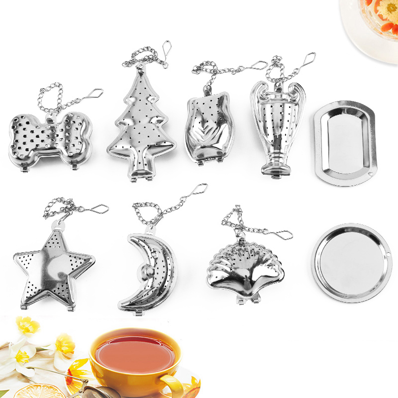 Herb Tea Infuser Popular Stainless Steel Hot Sale Tea Strainer Spice Filter Coffee Kitchen Tools Diffuser Kitchen Gadget 1PC
