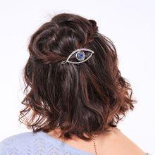 Newest Fashion Women Girls Hair Clip Creative Devil Eyes Clamp Hairpin Hairwear Gifts Jewelry Wild Headdress